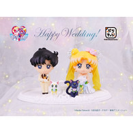 Petit Chara! Pretty Guardian Sailor Moon Happy Wedding PVC Figure