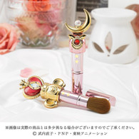 Miracle Romance Cheek Brush Moon Stick & Spiral Heart Moon Rod