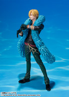 Figuarts Zero Sanji -One Piece 20th Anniversary ver.- PVC Figure (Completed)
