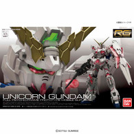 RG 1/144 RX-0 Unicorn Gundam Plastic Model