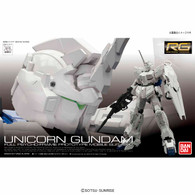 RG 1/144 RX-0 Unicorn Gundam (First limited package) Plastic Model