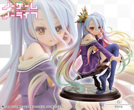 No Game No Life Shiro 1/7 PVC Figure (Completed)