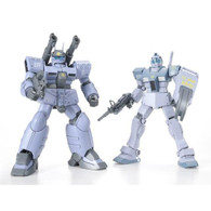 HGUC 1/144 GM & GunCannon Mass Production Type (White Dingo Custom) Plastic Model