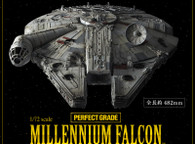 PERFECT GRADE 1/72 Millennium Falcon Plastic Model