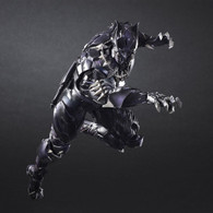 Marvel Universe Variant Play Arts Kai Black Panther Action Figure (Completed)