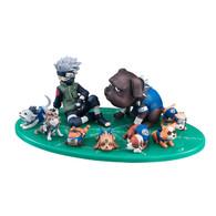 G.E.M. Series Gaiden! Naruto Shippuden Hatake Kakashi & Ninigan Set PVC Figure (Completed)