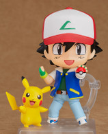 Nendoroid Ash & Pikachu Action Figure (Completed)
