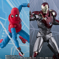 S.H.Figuarts Spider-Man (Home Made Suit ver.) & IronMan MK-47