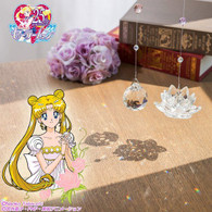 Pretty Guardian Sailor Moon Phantom Silver Crystal Sun Catcher A&B Set