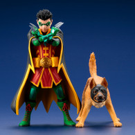 ARTFX+ Super Sons Robin & Ace the Bat-Hound 2 Pack 1/10 PVC Figure (Completed)