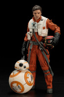 ARTFX+ Poe Dameron & BB-8 2 Pack - The Force Awakens Ver. 1/10 PVC Figure (Completed)