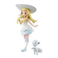 G.E.M. Series Pokemon Lillie & Snowy (Alolan Vulpix) PVC Figure (Completed)