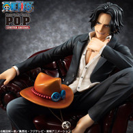 Portrait.Of.Pirates One Piece S.O.C Portgas D Ace 1/8 PVC Figure (Completed)