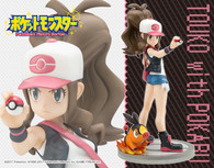 ARTFX J Hilda Touko with Tepig 1/8 PVC Figure (Completed)