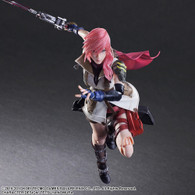 Dissidia Final Fantasy Play Arts Kai Lightning Action Figure (Completed)