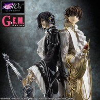 G.E.M. Clamp Works in CODE GEASS Lelouch & Suzaku 1/8 PVC Figure (Completed)