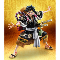 Portrait.Of.Pirates One Piece KABUKI EDITION Monkey D Luffy Second Performance