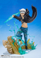Figuarts Zero Trafalgar Law -Gamma Knife- PVC Figure (Completed)