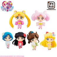 Petit Chara! Pretty Guardian Sailor Moon Festival Edited Sakura ver. PVC Figure (Completed)