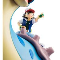 G.E.M. Series Pokemon Ash Ketchum & Pikachu & Lapras PVC Figure (Completed)
