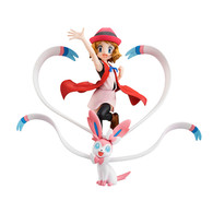G.E.M. Series Pokemon (Serena & Sylveon) PVC Figure (Completed) (with bonus)