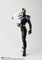 S.H.Figuarts (Shinkoccou Seihou) Kamen Rider W (Double) Fang Joker Action Figure (Completed)