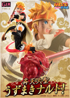 G.E.M. series remix Naruto Shippuden Uzumaki Naruto (The Monkey King) PVC Figure (Completed)