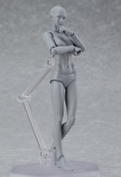 figma archetype next: She - Gray color ver. Action Figure (Completed)