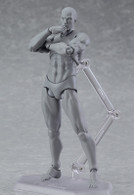 figma archetype next: He - Gray color ver. Action Figure (Completed)