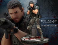 ARTFX Chris Redfield 1/6 PVC Figure (Completed)