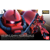 RG 1/144 MS-06R-2 JOHNNY RIDDEN'S ZAKU II Plastic Model