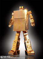 Soul of Chogokin GX-32R Gold Lightan 24 Gold Plated Finish  Action Figure (Completed)
