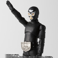 S.H.Figuarts Shocker Combatman (Black) Action Figure (Completed)