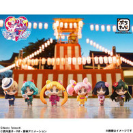 Petit Chara! Pretty Guardian Sailor Moon Go out in Yukata