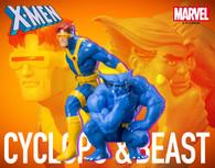 KOTOBUKIYA ARTFX+ Cyclops & Beast 2 Pack 1/10 PVC Figure (Completed)