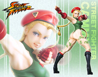 Street Fighter Bishojyo Cammy 1/7 PVC Figure (Completed)