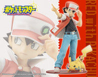 ARTFX J Red with Pikachu 1/8 PVC Figure