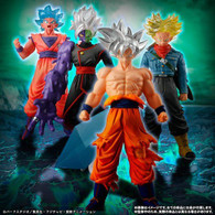 HG Dragon Ball Silver Edition PVC Figure
