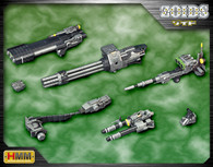 KOTOBUKIYA ZOIDS Customize Parts Beam Gatling Set 1/72