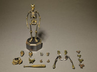 KAIYODO TK Project KT-005 Takeya Freely Figure Skeleton Iron Rust Edition