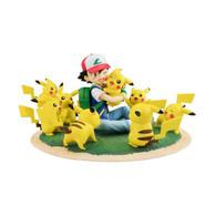 G.E.M. Series Pokemon Ash Ketchum & Pikachu (Pikachu full Ver.) (with PB bonus Pikachu female)
