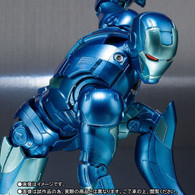 S.H.Figuarts Iron Man MK-3 Blue Stealth Color Action Figure ( IN STOCK )