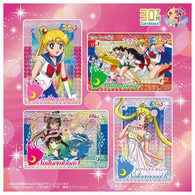 Carddass 30th Anniversary Best Selection Set Pretty Guardian Sailor Moon Carddas ver.