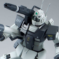 MG 1/100 RGC-80 GM Cannon (White Dingo Colors) Plastic Model