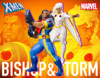 ARTFX+ Bishop & Storm 2Packs 1/10 PVC Figure
