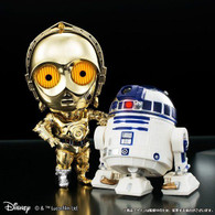 Q Droid Star Wars C-3PO & R2-D 2 Plating Color ver.