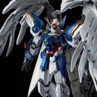RG 1/144 Wing Gundam Zero Custom EW & Drei Zwerg Buster (Titanium Finish) Plastic Model