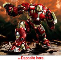 (Deposite) BANDAI Chogokin×S.H.Figuarts Iron Man Mark 44 Hulk Buster