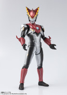 S.H.Figuarts Ultraman Rosso Flame Action Figure (with bonus)