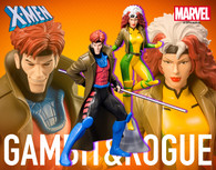 ARTFX+ Marvel Universe - Gambit & Rogue 2 Pack 1/10 PVC Figure